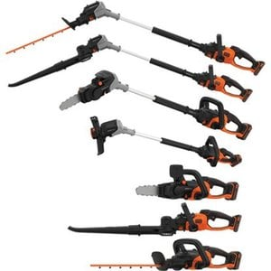 Black+Decker 7in1 Gartengeräte-Multifunktions-Set Seasonmaster BCASK8967D2