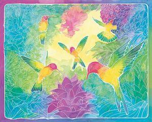 Ravensburger Malen nach Zahlen - Mixxy Colors - Gefiederte Freunde