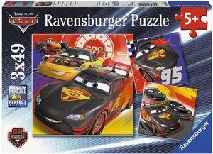 Ravensburger Cars - Abenteuer auf der Straße, 3x49 Teile