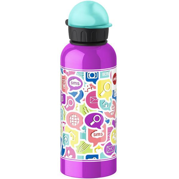Emsa Trinkflasche Teens Chat, 0,6 l