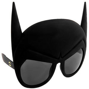 Maskworld Sun Staches Partybrille Batgirl