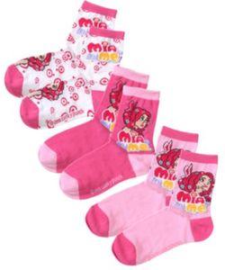 MIA AND ME Socken 3er-Pack Gr. 35-38 Mädchen Kinder