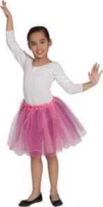 Kostüm Tutu Rosa Gr. 116 Mädchen Kinder