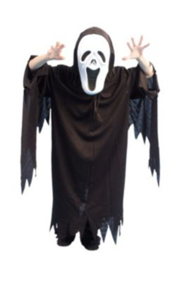 Kostüm Gespensterumhang, mit Kapuze Gr. 116