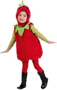 Kostüm Erdbeere Gr. 134/140