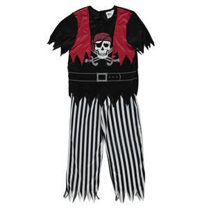 Crazy Days             Kostüm, Pirat, T-Shirt & Hose (2-tlg. Set), für Kinder