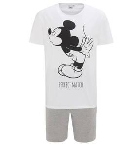 manguun             Schlafanzug, kurz, Disney-Print, Kordelzug