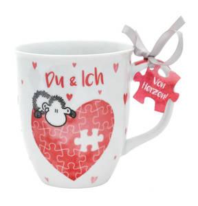 """Sheepworld             Tasse """"Du & Ich - Mit Dir bin ich komplett!"""""""