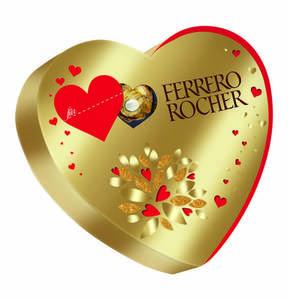 FERRERO             Rocher Herz, 125g                 (2 Stück)
