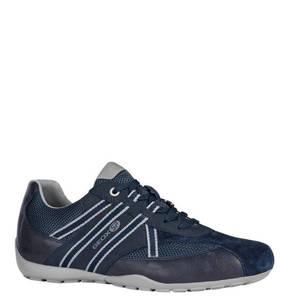 GEOX             Sneaker, Marken-Print, abgesetzte Sohle