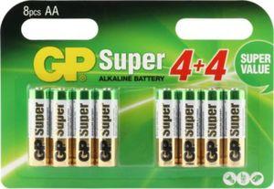 GP Batterien Alkaline AA, 8er-Pack