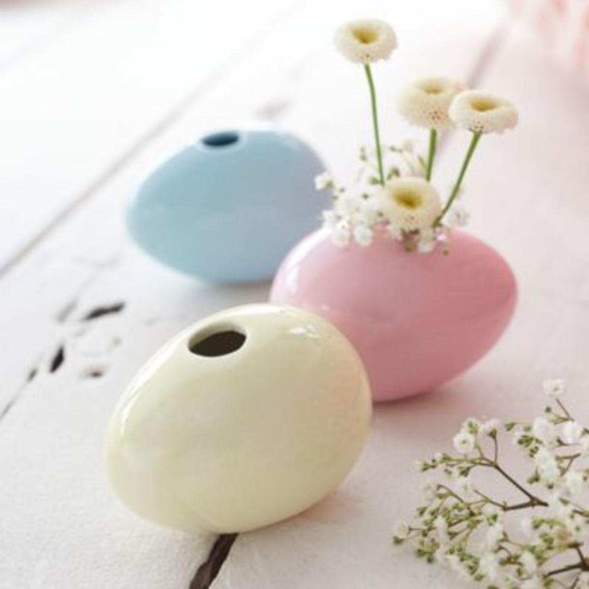 Bild 3 von Mini-Vasen-Set, 3-tlg. Ostereier
