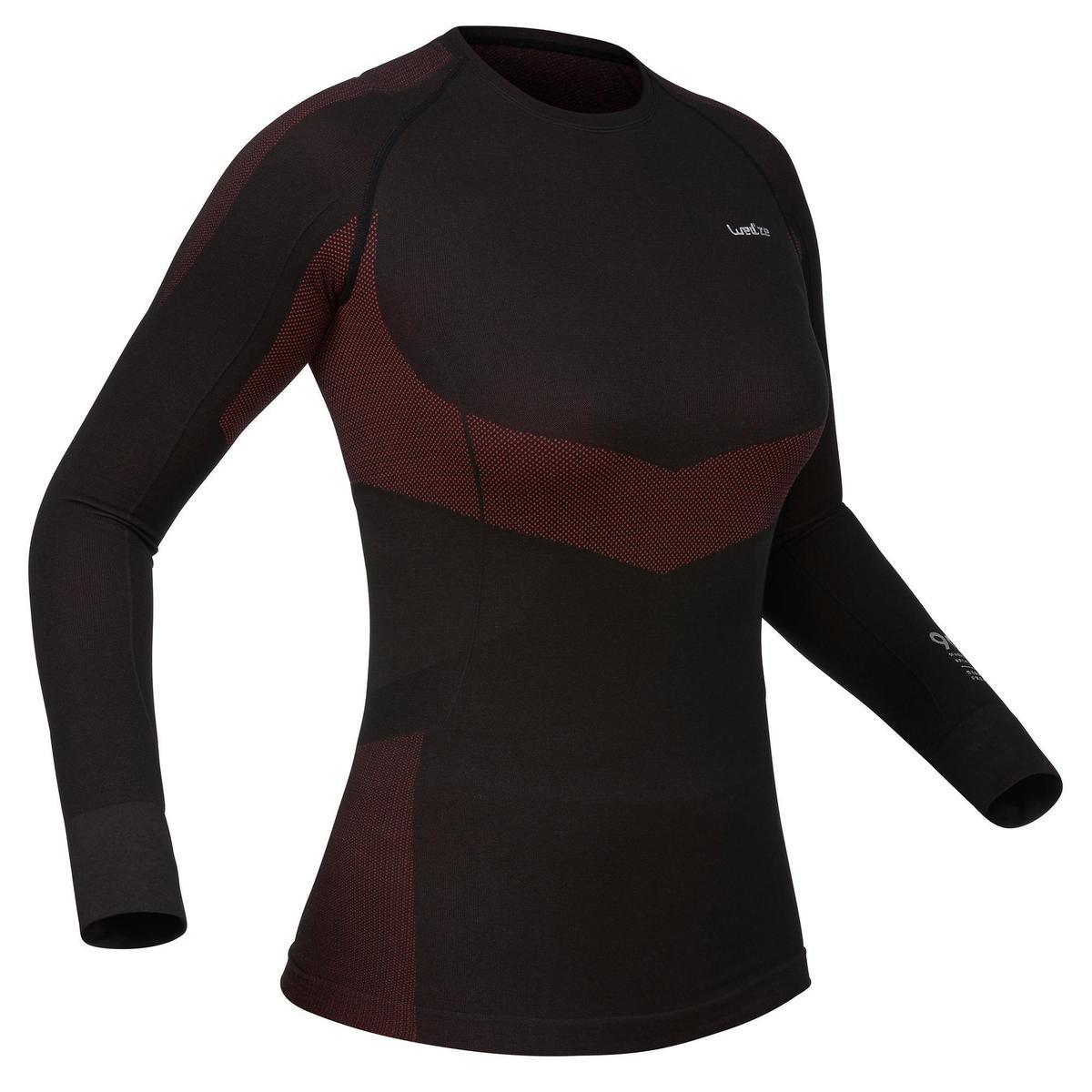 Bild 1 von Skiunterwäsche Funktionsshirt 900 Damen schwarz rosa