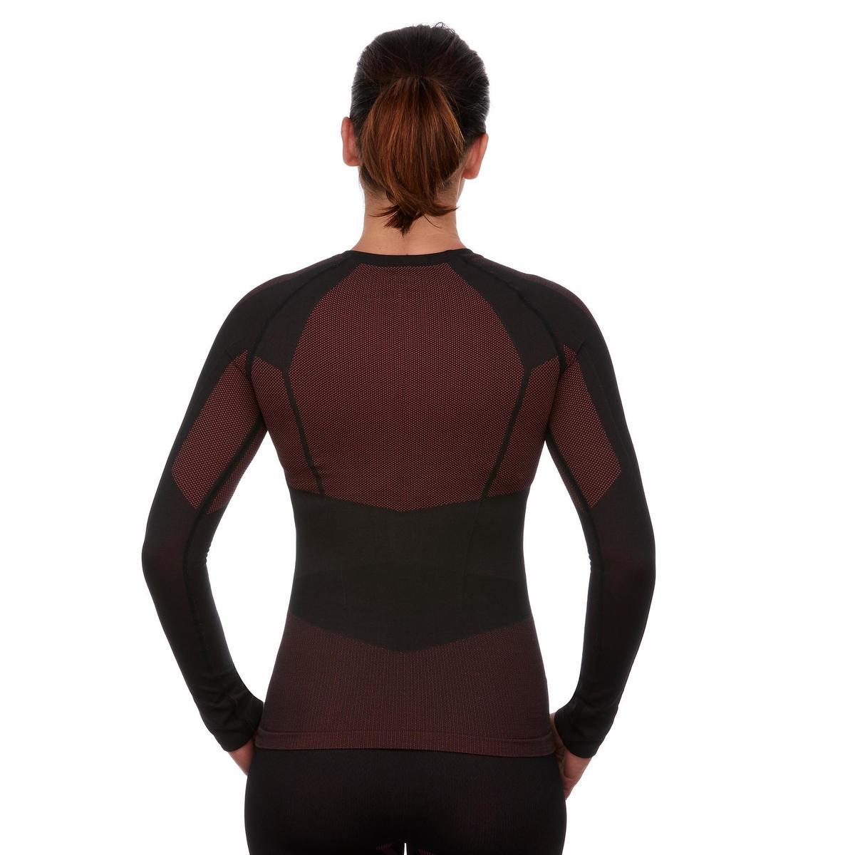 Bild 5 von Skiunterwäsche Funktionsshirt 900 Damen schwarz rosa