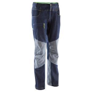 Kletterhose Jeans Rock Herren blau