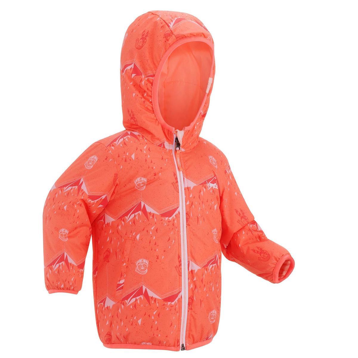 Bild 1 von Jacke wendbar warm Baby rosa