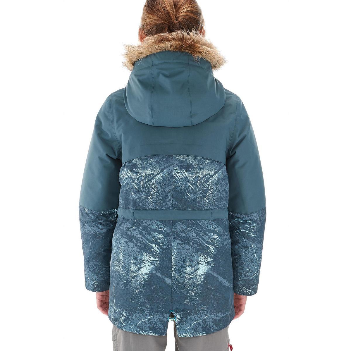 Bild 5 von Wanderjacke Schnee SH500 X-Warm Kinder grau
