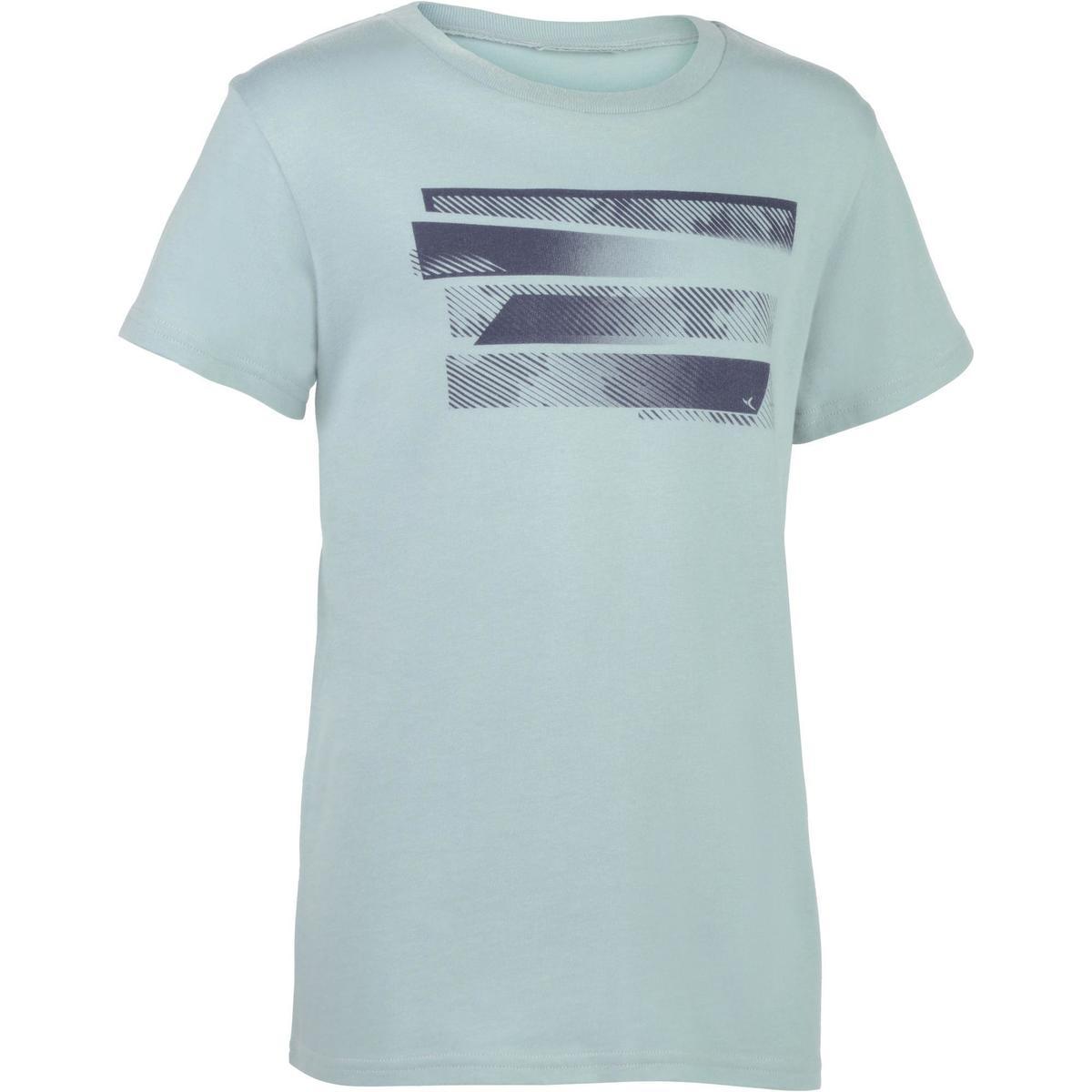 Bild 1 von T-Shirt 100 Gym Kinder grau mit Print