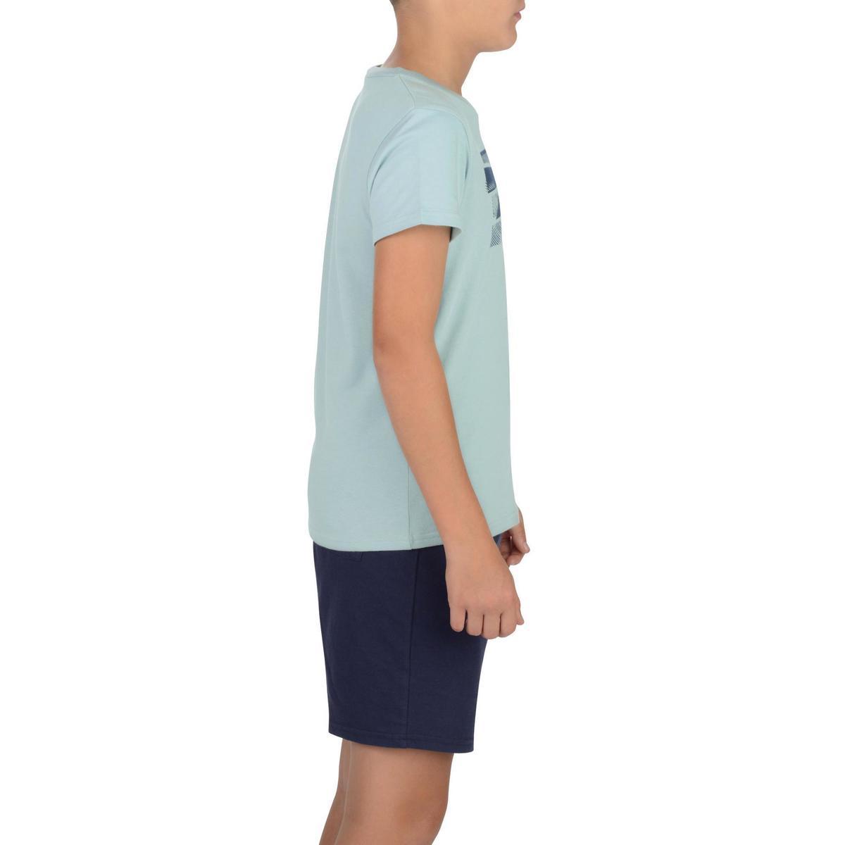 Bild 3 von T-Shirt 100 Gym Kinder grau mit Print