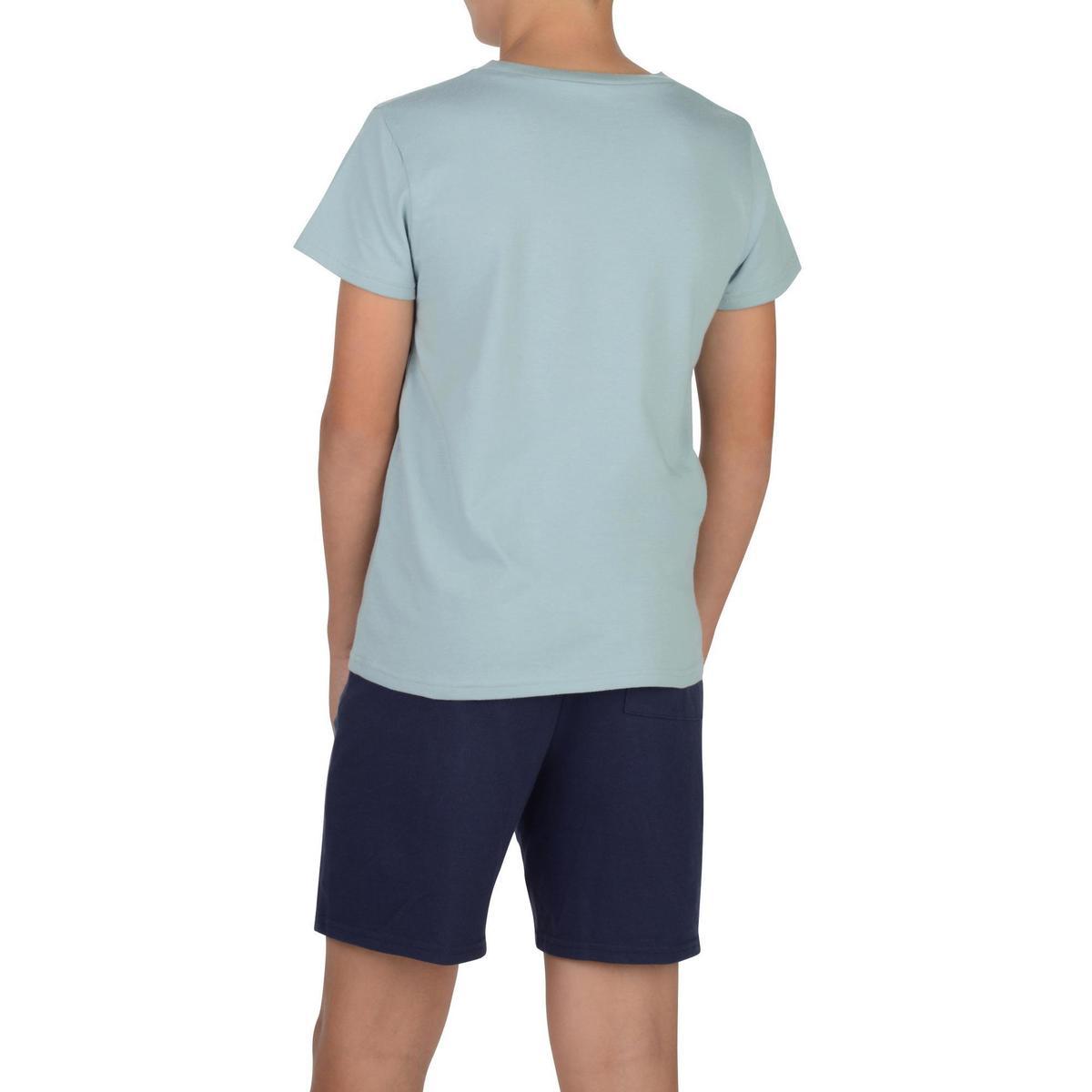 Bild 4 von T-Shirt 100 Gym Kinder grau mit Print