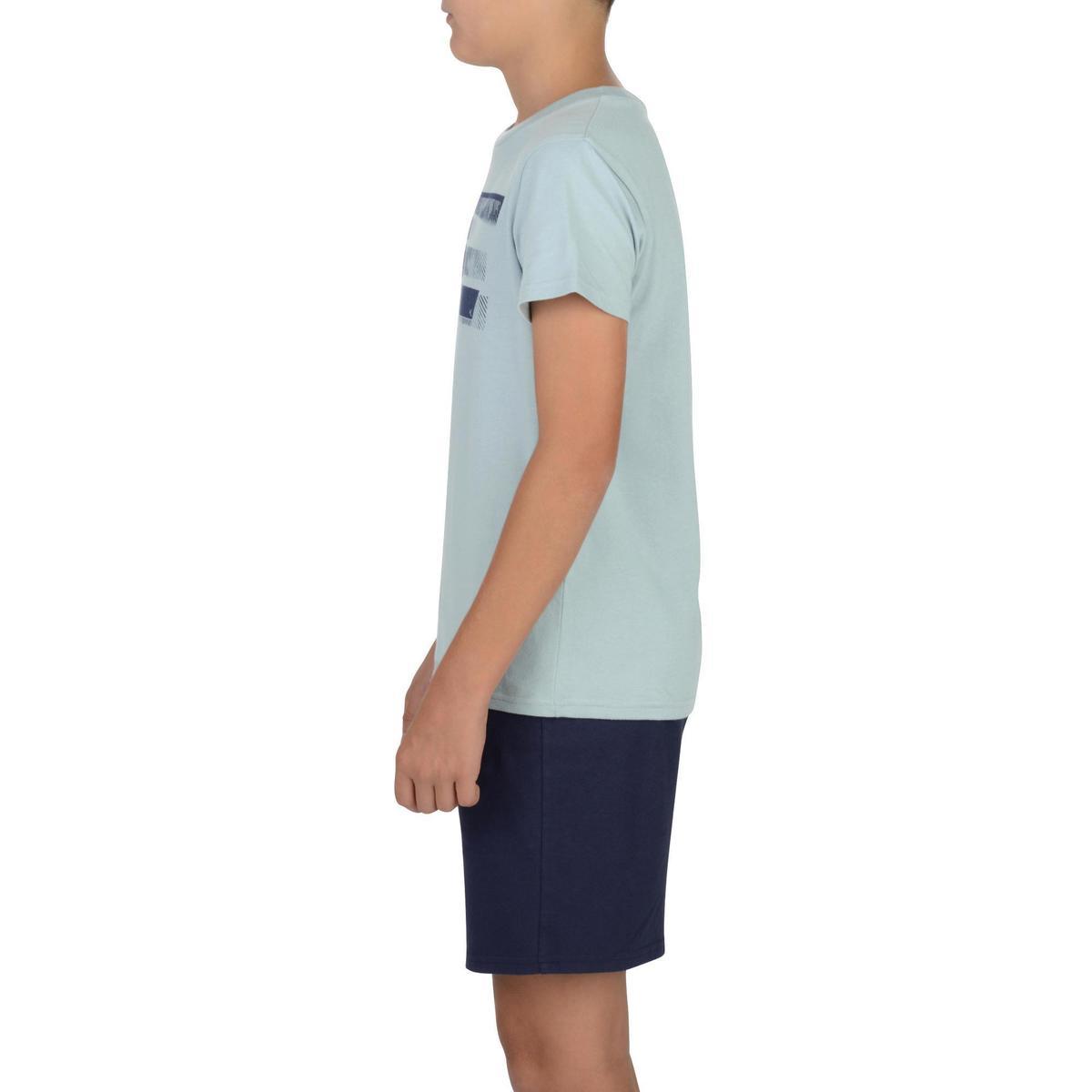 Bild 5 von T-Shirt 100 Gym Kinder grau mit Print