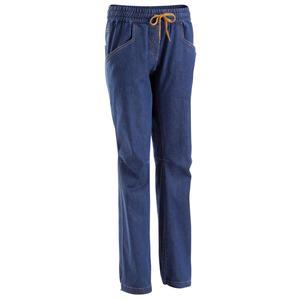 Kletterhose Jeans Edge Damen blau