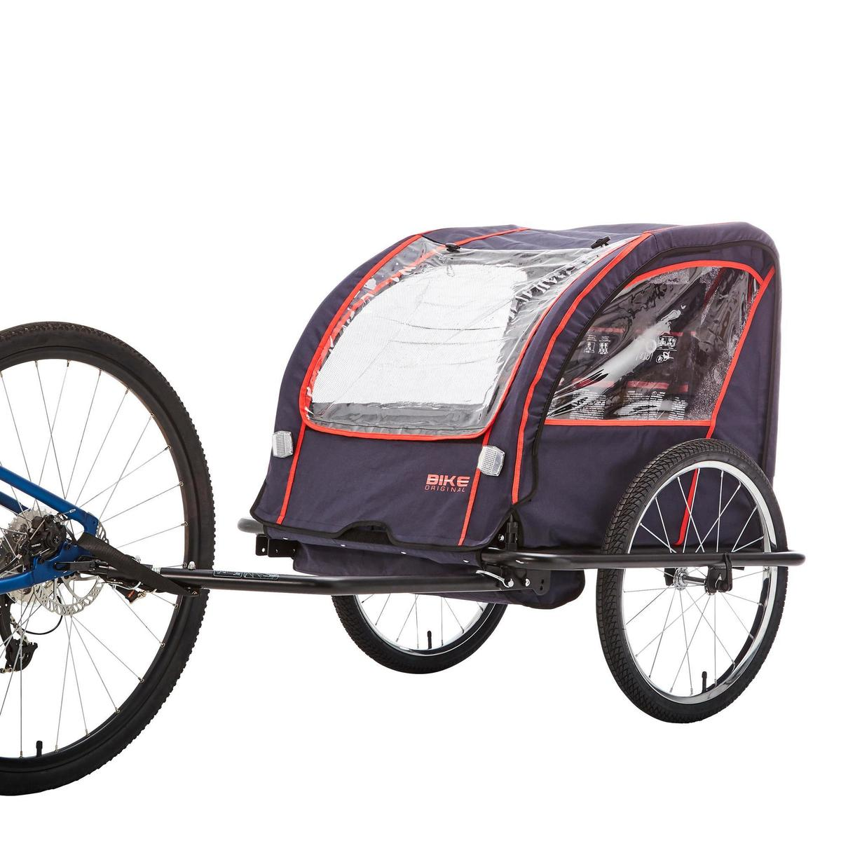 Bild 5 von Kinder-Fahrradanhänger 100 Stahlgestell indigoblau