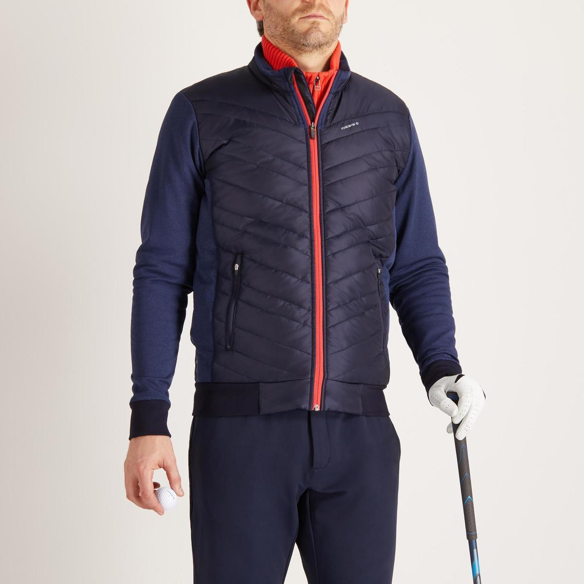 Bild 2 von Golf Wattierte Jacke Herren kühle Witterungen marineblau