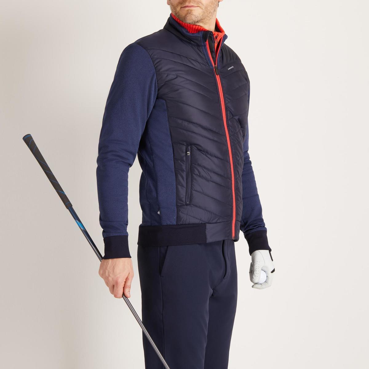 Bild 3 von Golf Wattierte Jacke Herren kühle Witterungen marineblau
