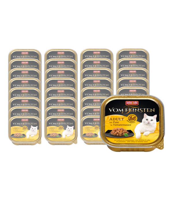 animonda Vom Feinsten Adult in Sauce, Nassfutter, 32 x 100g
