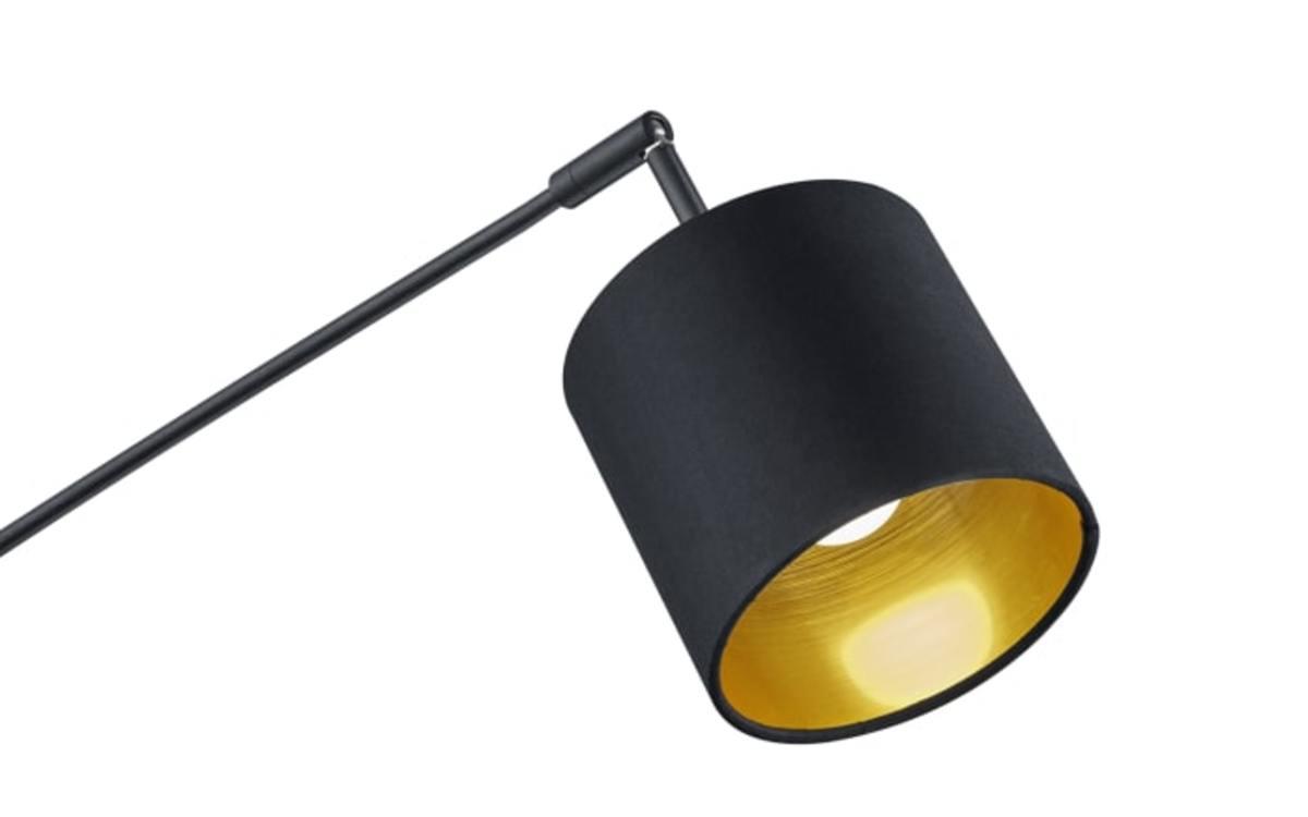 Bild 3 von Reality Leuchten - Standleuchte Tommy in schwarz/gold