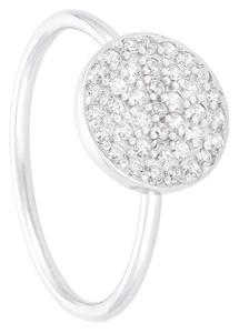 Silber Ring - Glamour Circle