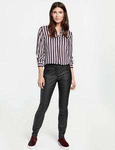 Hose mit Zierstepp Slim Fit
