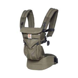 Ergobaby®  OMNI 360 Cool Air Mesh Babytrage, 4 Tragepositionen Khaki Green