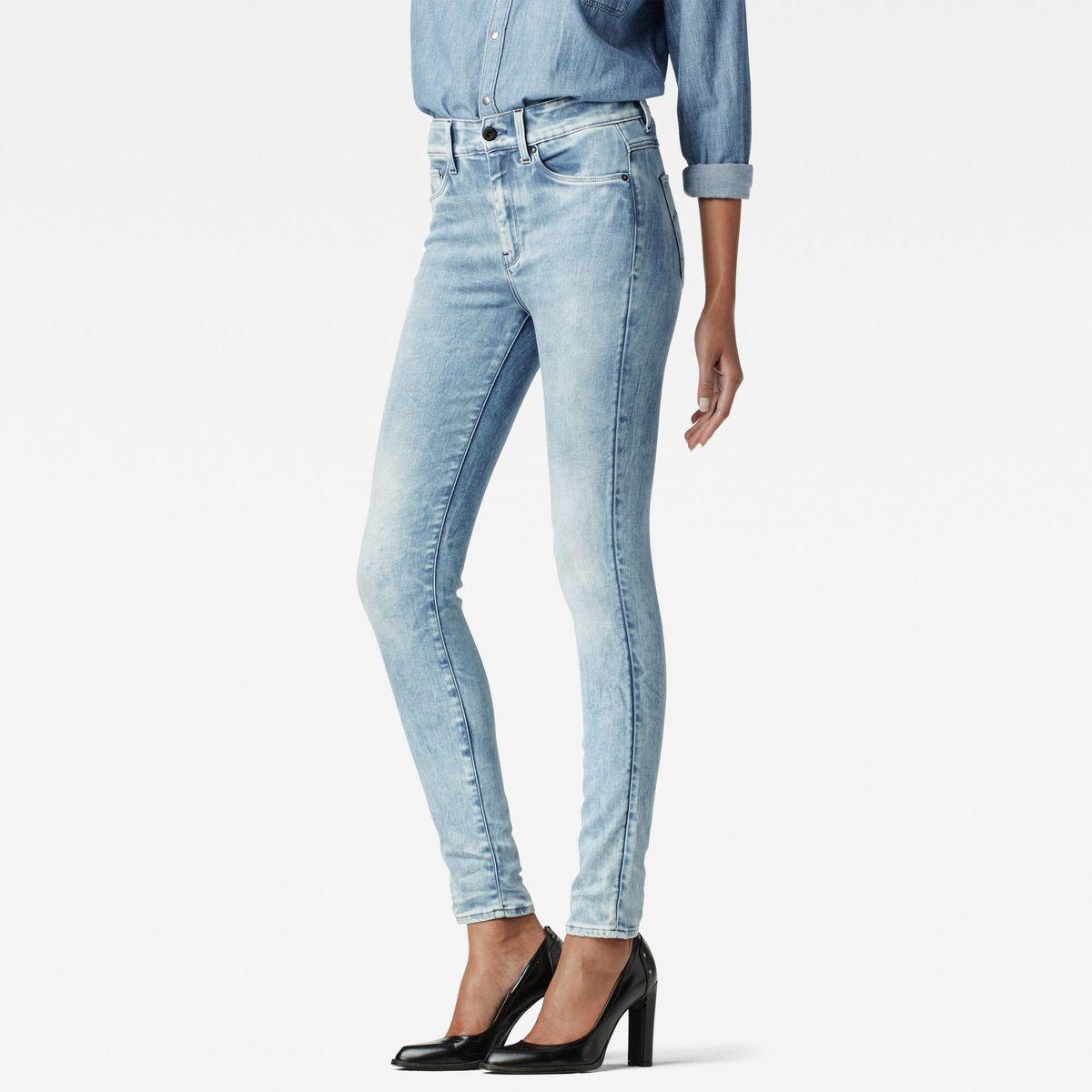 Bild 1 von 3301 Ultra High Waist Super Skinny Jeans