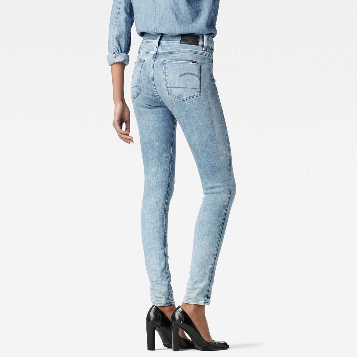Bild 2 von 3301 Ultra High Waist Super Skinny Jeans