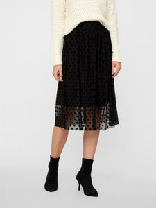 DOTTED SHEER OVERLAY ROCK