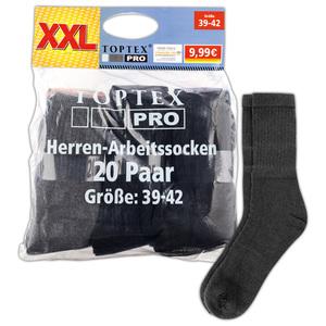 Toptex Pro Arbeitssocken 20 Paar
