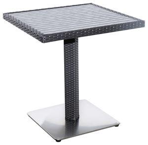 METRO Professional Tisch Barbados Schwarz