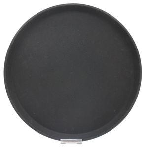 METRO Professional Kellnertablett rutschfest Schwarz rund Ø 40,5 cm