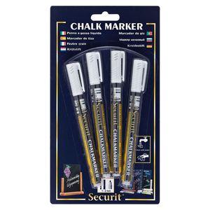 Securit Kreidemarker 1 mm - 4 Stück