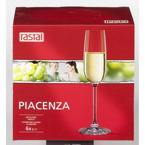 Rastal Piacenza Sektkelche 158 ml - 6 Stück