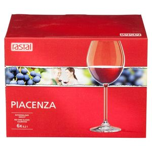 Rastal Piacenza Rotweinkelche 396 ml - 6 Stück