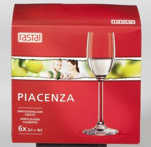 Rastal Piacenza Spirituosenkelche 63 ml - 6 Stück