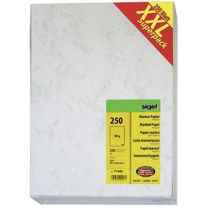 Sigel T1080 Marmorpapier A4 - 250 Blatt