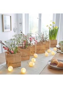"""Pflanztüten """"Blume"""" (3-tlg.Set)"""