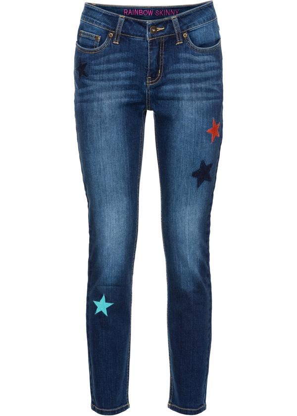 Knöchelfreie Skinny Jeans