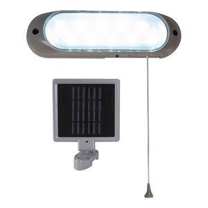 home24 LED Aussenleuchte Solarstation 10-flammig