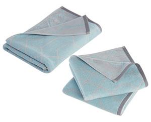 casa deco 1 Frottier Duschtuch oder 2 Handtücher