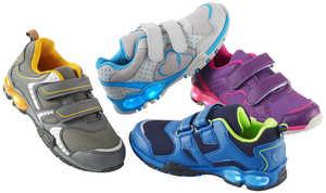 KUNIBOO®  Mädchen- oder Jungen-Sneaker mit Blinkfunktion